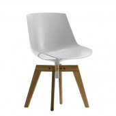 FLOW CHAIR 4 PATAS ROBLE